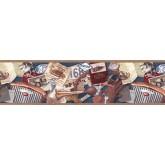 Clearance: Contemporary Wallpaper Border b102663