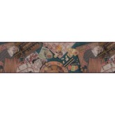 Clearance: Contemporary Wallpaper Border b102672