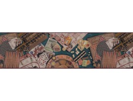 Prepasted Wallpaper Borders - Contemporary Wall Paper Border b102672