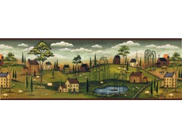 Country Wallpaper Border SB10274B
