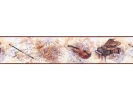 Prepasted Wallpaper Borders - Novelty Wall Paper Border SB10278B