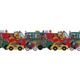 Kids Wallpaper Borders: Kids Wallpaper Border B102900