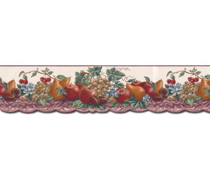 Clearance: Fruits Wallpaper Border B10294
