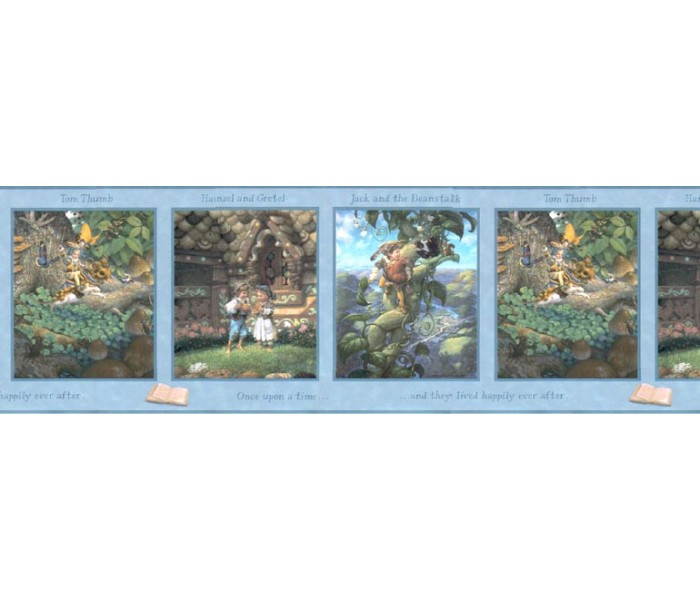 Clearance: Kids Wallpaper Border b103354