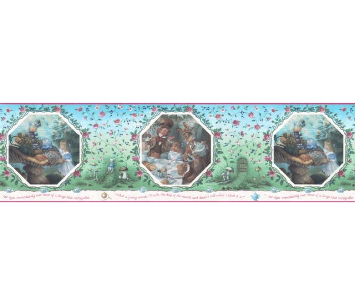 Clearance: Fairy Tales Wallpaper Border b103361