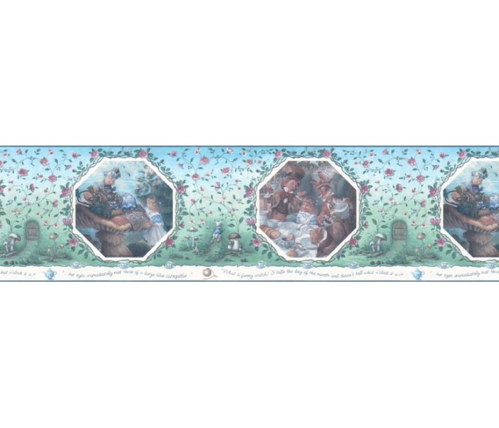 Clearance: Kids Wallpaper Border WF103364