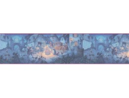 Prepasted Wallpaper Borders - Cinderella Wall Paper Border b103401