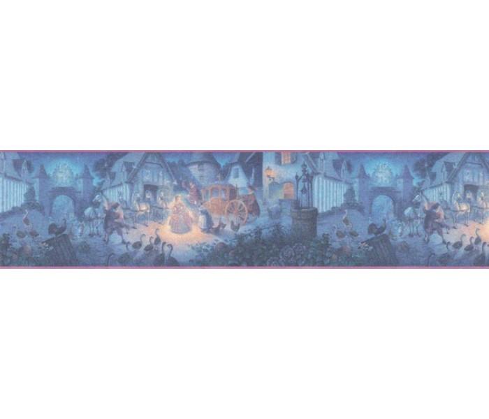 Clearance: Cinderella Wallpaper Border b103401