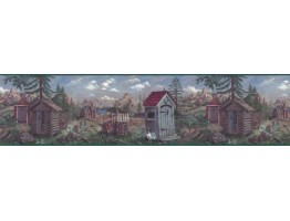 Country Wallpaper Border B103552