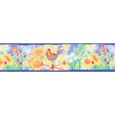 Clearance: Sunflowers Wallpaper Border CCK11021B