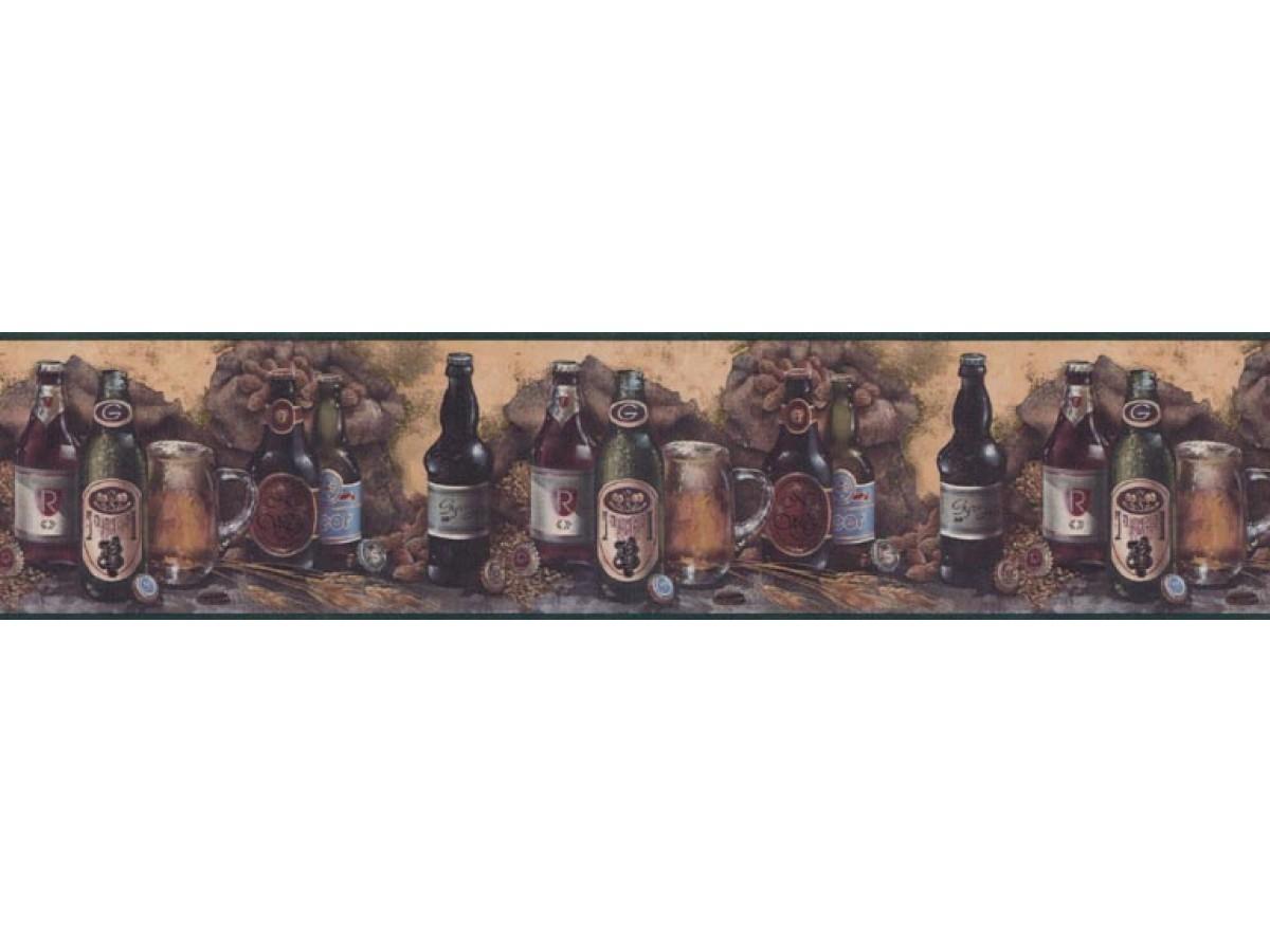 Kitchen Wallpaper Border B1132amd