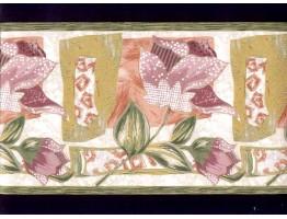 Floral Wallpaper Border B1271pb