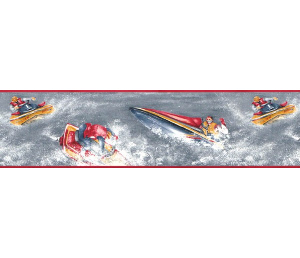 Clearance: Sports Wallpaper Border 128230