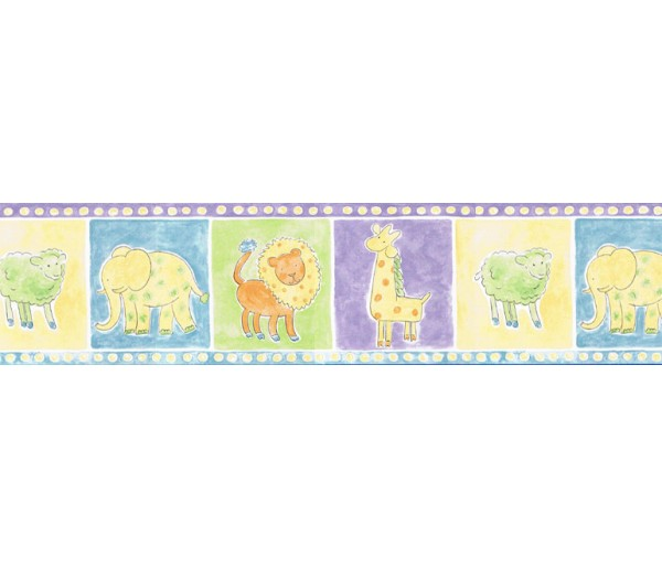 Clearance: Animals Wallpaper Border HK13005B