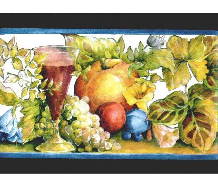 Clearance: Fruits Wallpaper Border b144208