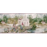 Clearance: Country Wallpaper Border B148223