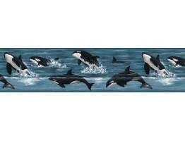 Dolphin Wallpaper Border b149263