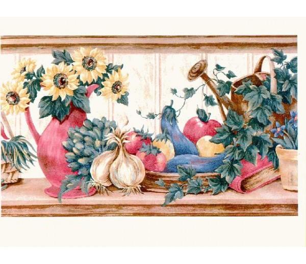 Clearance: Sunflowers Wallpaper Border b16286