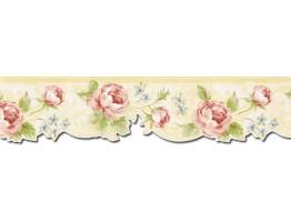 Floral Wallpaper Border NUT1704
