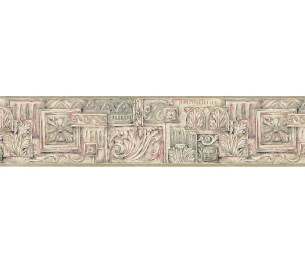 Clearance: Contemporary Wallpaper Border NUT1708