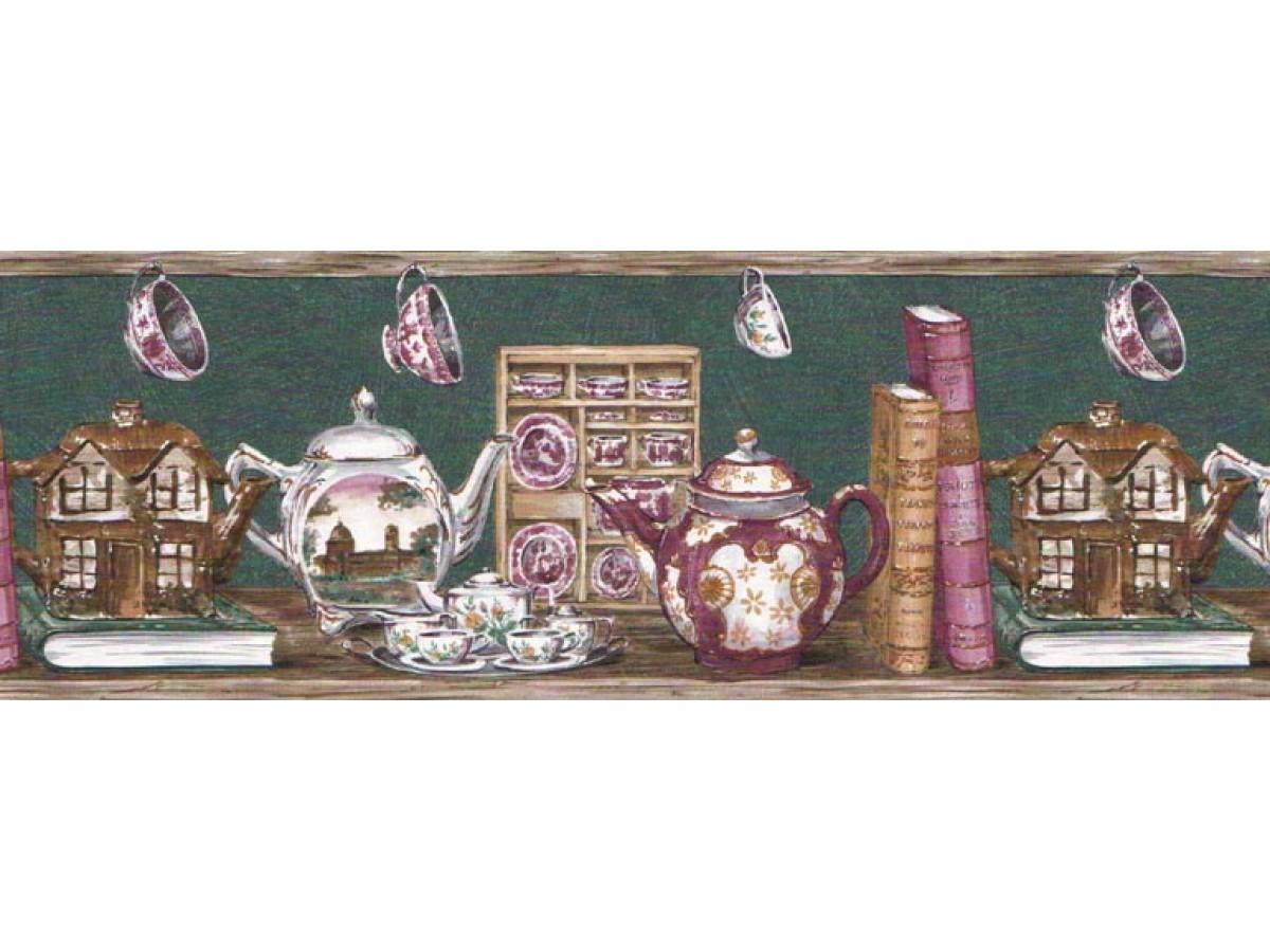 Kitchen Wallpaper Border B192205
