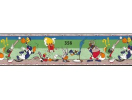 6 3/4 in x 15 ft Prepasted Wallpaper Borders - Cartoons Wall Paper Border TTFS2004B