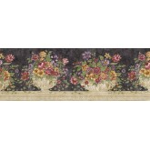 Floral Wallpaper Borders: Floral Wallpaper Border RST21512
