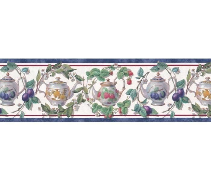 Clearance: Garden Wallpaper Border B21868