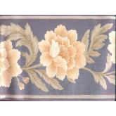 Clearance: Floral Wallpaper Border b21875