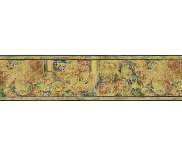 Vintage Wallpaper Borders : Kitchen Wallpaper Border FF2