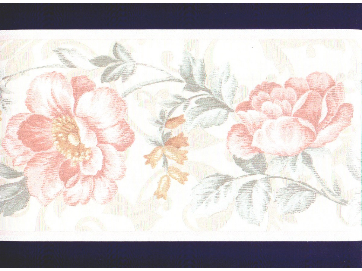 Floral Wallpaper Border 87964dc Painting Supplies Wall