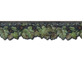 Prepasted Wallpaper Borders - Leafs Wall Paper Border  TV23025DB