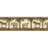 Clearance: Animals Wallpaper Border TV23029B