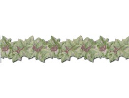 Prepasted Wallpaper Borders - Leafs Wall Paper Border PT24013B