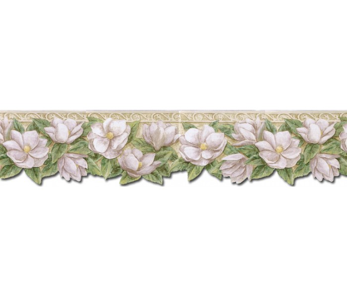 Clearance: Floral Wallpaper Border PT24023B