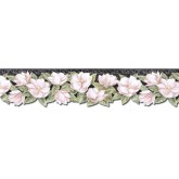 Clearance: Floral Wallpaper Border PT24024B