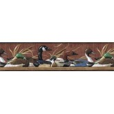 Birds  Wallpaper Borders: Ducks Wallpaper Border MRL2418