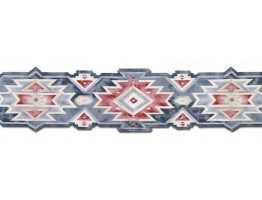 Prepasted Wallpaper Borders - Contemporary Wall Paper Border SD25013DB