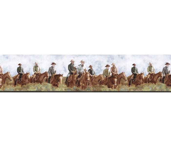 Horses Wallpaper Borders: Horses Wallpaper Border B25015