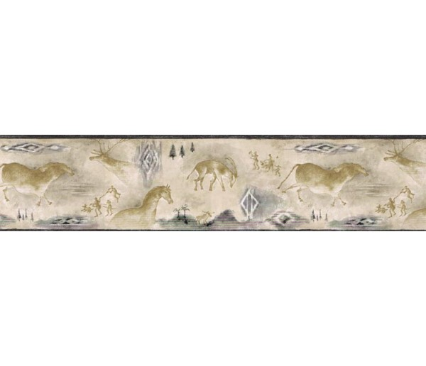 Clearance: Animals Wallpaper Border B25019