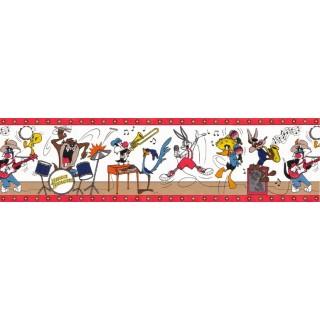 8 in x 15 ft Prepasted Wallpaper Borders - Cartoons Wall Paper Border LT2501B