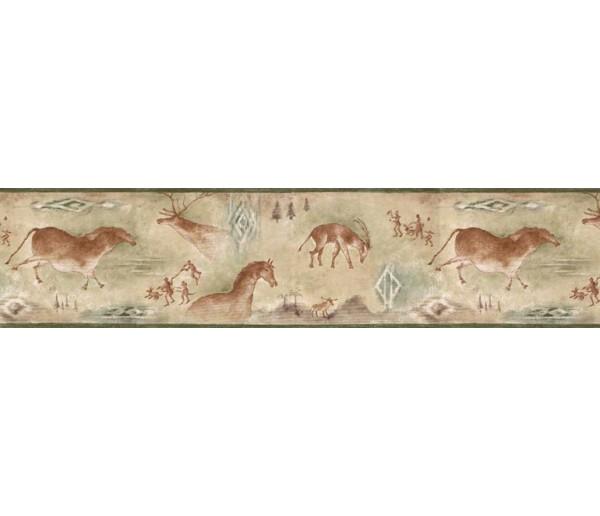 Clearance Animals Wallpaper Border B25020