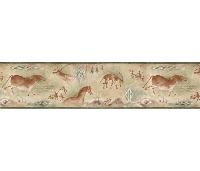 Clearance: Animals Wallpaper Border B25020