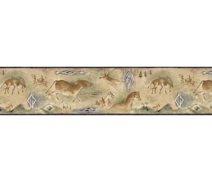 Clearance: Animals Wallpaper Border B25021