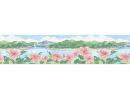 Prepasted Wallpaper Borders - Country Wall Paper Border B27189