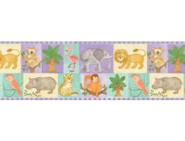 Animals Wallpaper Border B27903