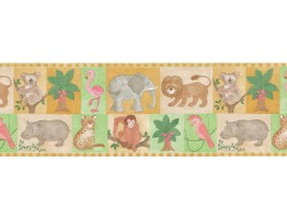 Prepasted Wallpaper Borders - Kids Wall Paper Border B27905