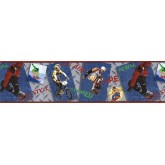 Clearance: Sports Wallpaper Border JFM2818B