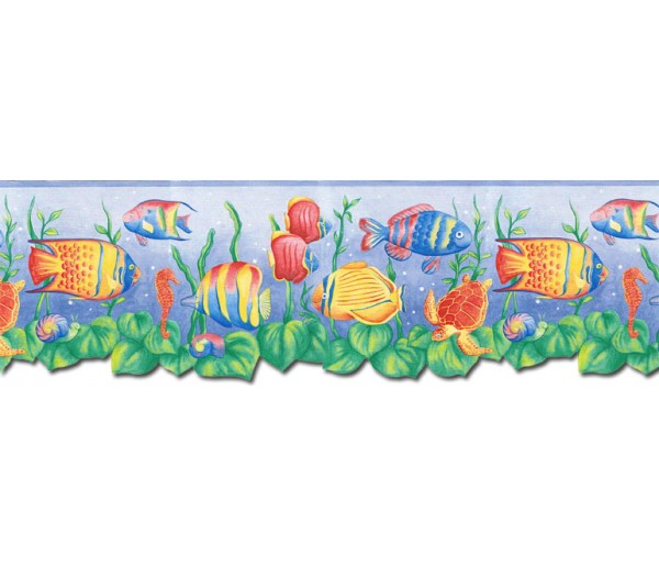 Sea World Wall Borders: Sea World Wallpaper Border JFM2834DB