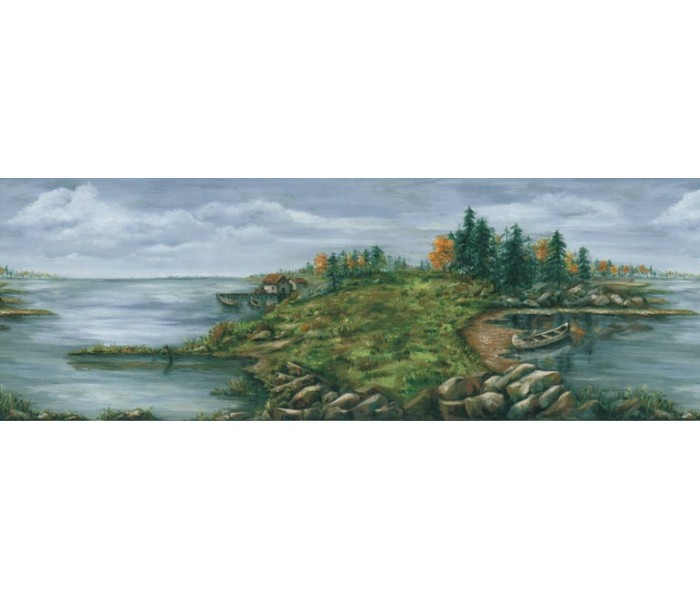Clearance: Country Wallpaper Border B28966